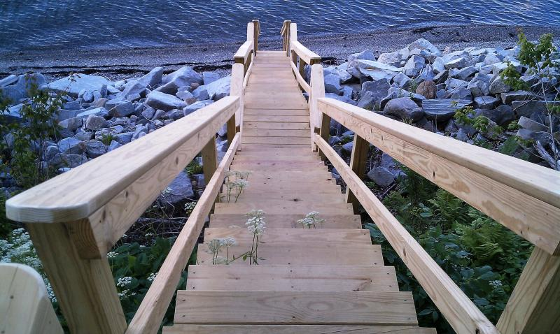 The Stairs down to the Beach