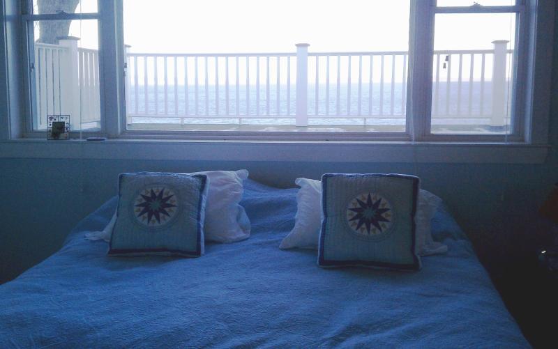 Master Bedroom Picture Window with Ocean View