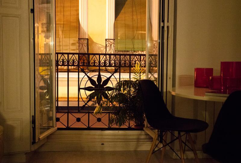 balcón terraza mediterránea loft