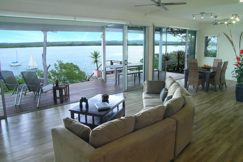 180 graden panoramisch uitzicht vanuit de open keuken kamers