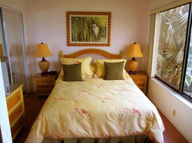Water view bedroom
