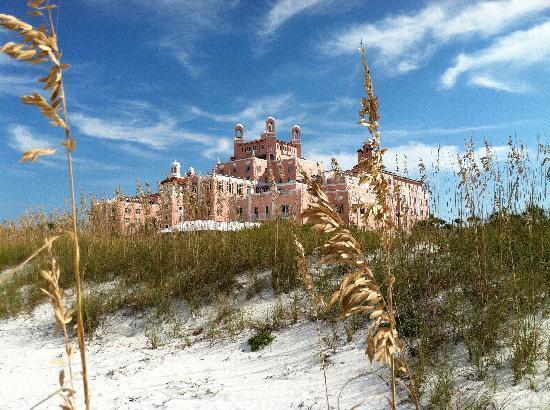 Don CeSar Hotel from beach