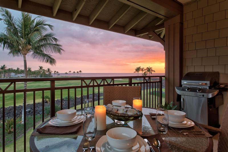 Oceanview 2Br Halii Kai Condo12A-Cleaning & Resort incl in weekly rentals, holiday rental in Kohala Coast