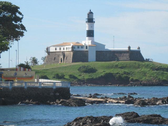Farol da Barra Lighthouse, just walking dostance from apartment