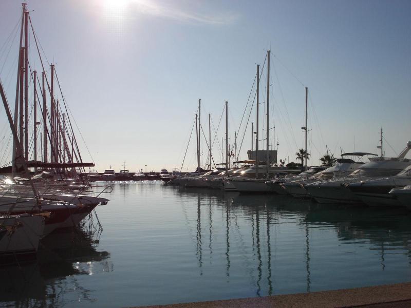 The marina of Saint Laurent