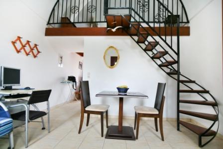 Santorini Villa The Birds Apartments for 5 with Free Car ...