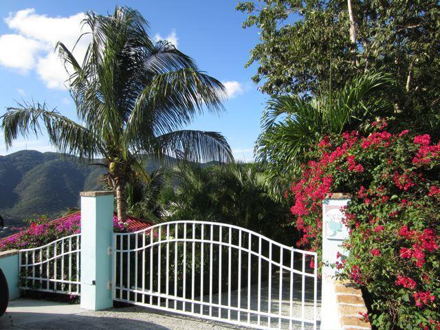 entrance to Great Turtle Villa