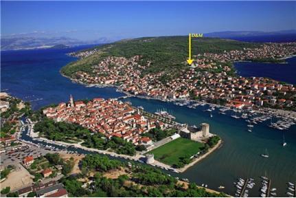 Location on island Ciovo (5min walk to centre)