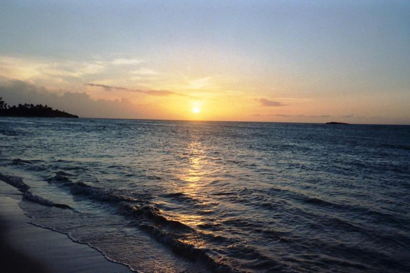 Breath-taking Sunset on your Private Beach.