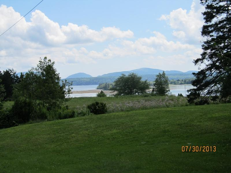 Views of Acadia National Park from the driveway!