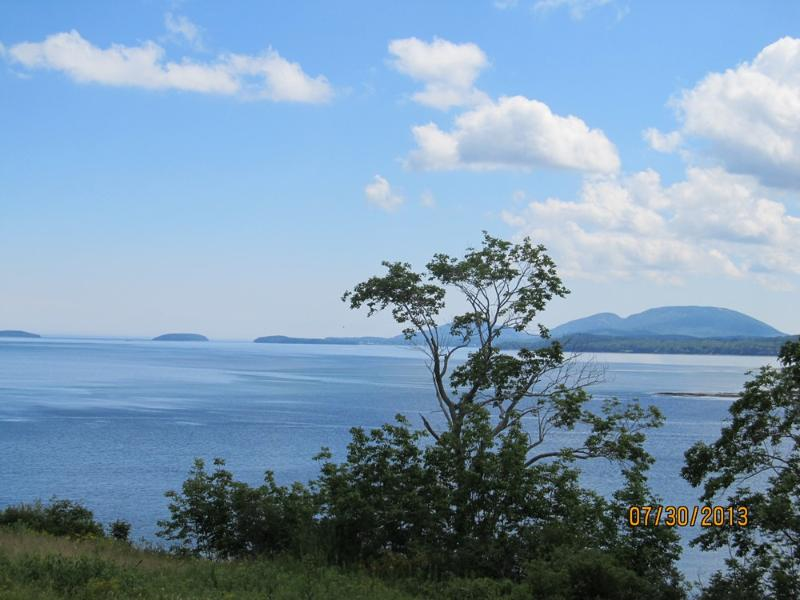 Spectacular views of Frenchman's Bay