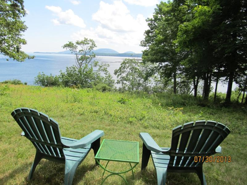 Adirondacks with a view!