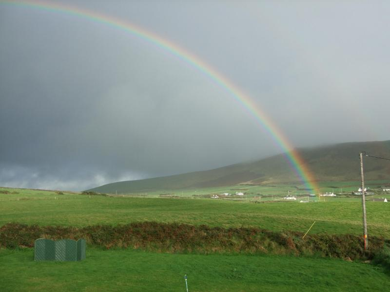 Rainbow at the end of the Garden!