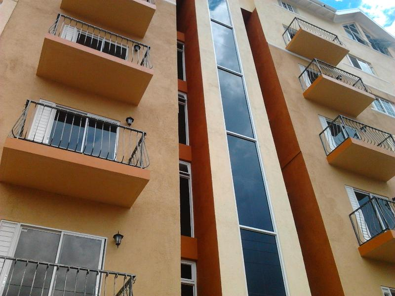 Kensington Apartment Entrance and Parking Area which is within a 24hrs Gated Community