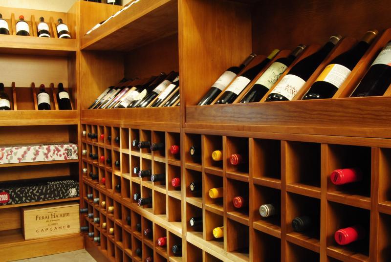 Cal Porxo's wine shop