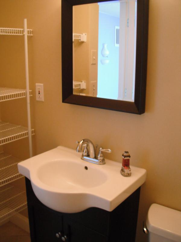 New Powder Room - in the master bedroom