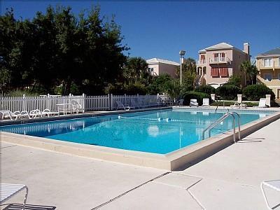 large inviting pool next door
