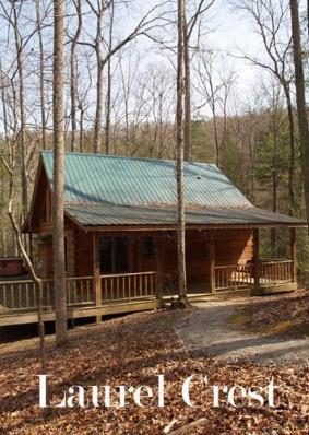 Laurel Crest-secluded 2 bedroom cabin with hottub, aluguéis de temporada em Townsend