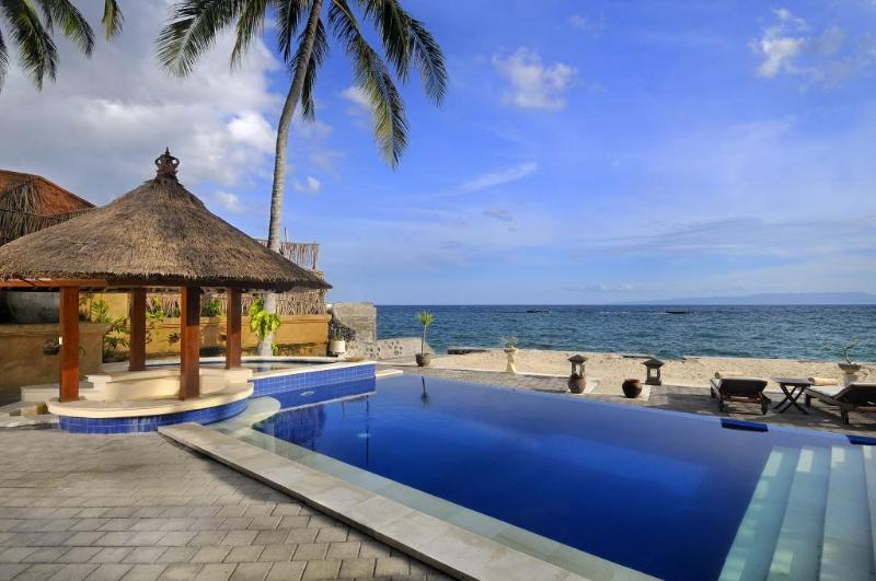 Vistas a Lombok hacia el este