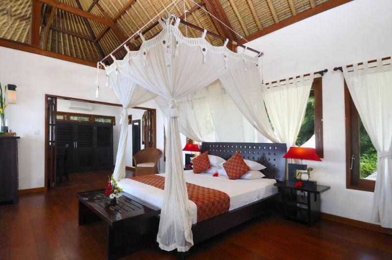 Dormitorio principal - con espacio extra que es ideal para los más pequeños