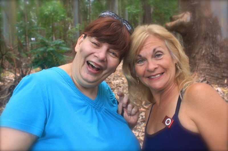 Betty Ann and Debbie, Owners and Hosts It is a family affair we are cousins.
