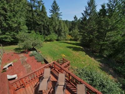 Hummingbird House, Views of the Forest, Sonoma County CA