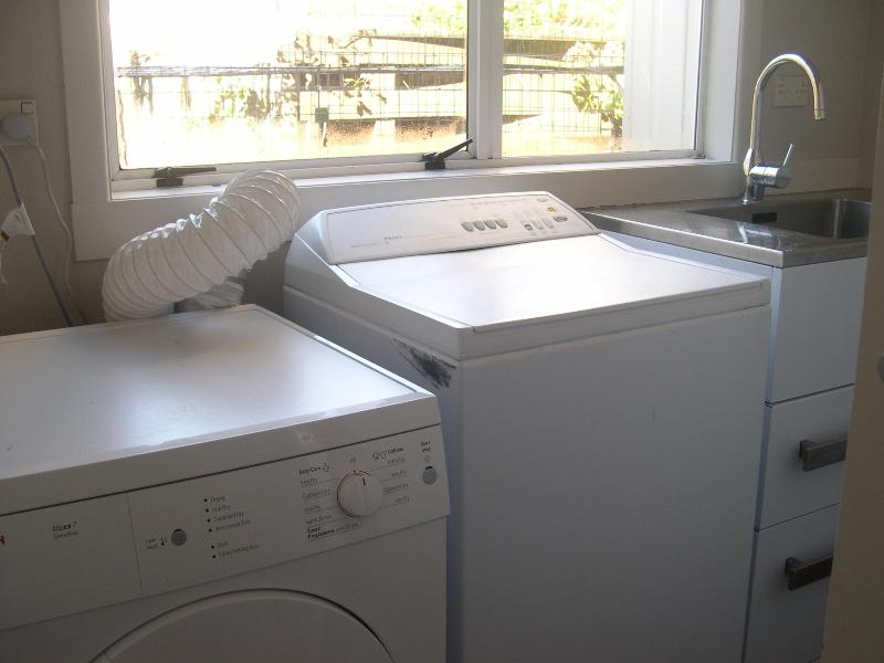 Laundry, washer and dryer