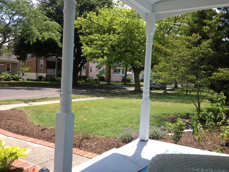 Alternate view from front porch