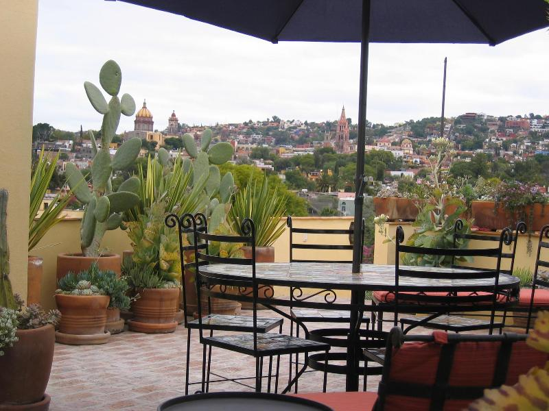 Casa de Mira - 3 BR, 2 terrace casa w/ elevator, holiday rental in Guanajuato