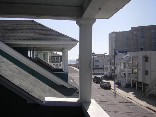 Ocean Views from top deck