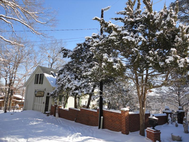 The Carriage House in winter