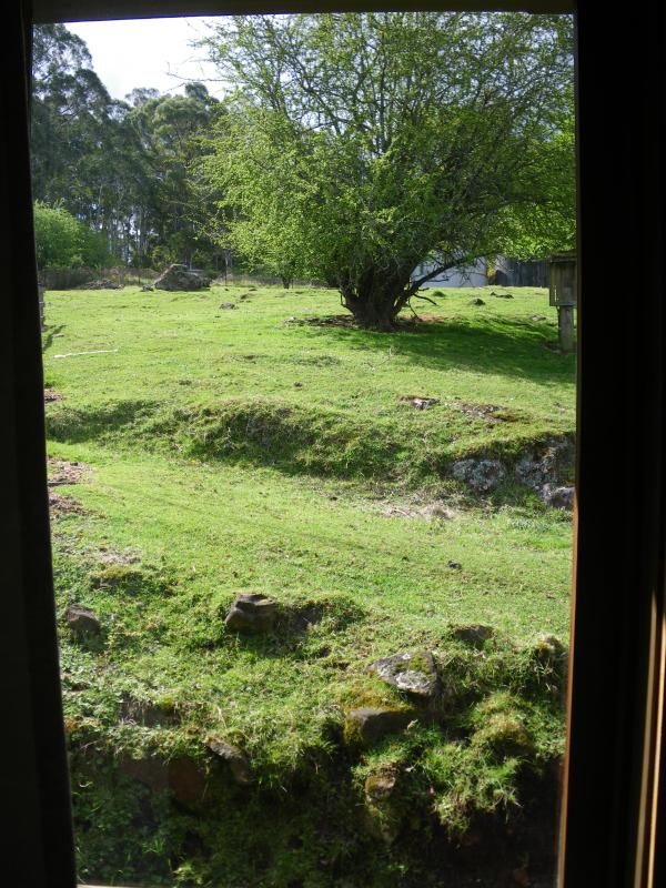 View from the chalet window