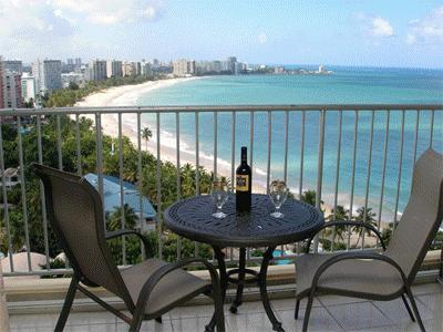 Puerto Rico - Isla Verde Beach - Full Ocean View, Beach Front WIFI Free Parking, holiday rental in Isla Verde