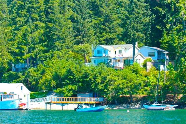 Beide huizen van het Water