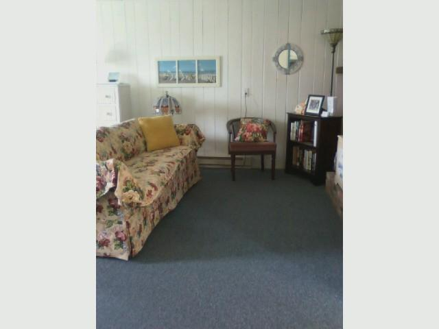 Section of Living Area