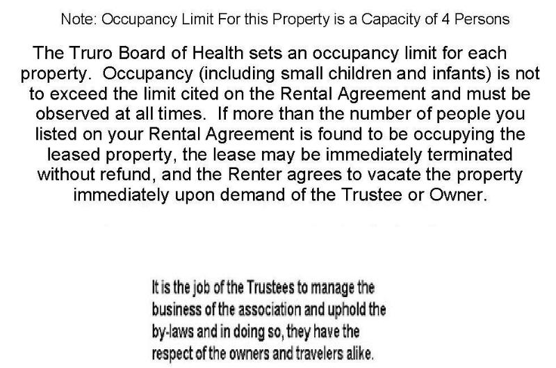 IMPORTANT:Truro Board of Health Capacity Notice