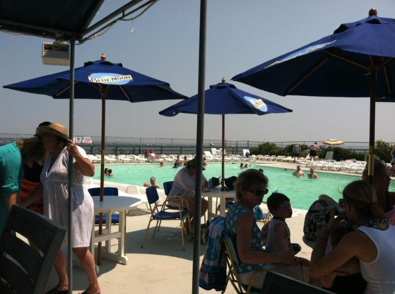 FREE to the Public The Provincetown Inn Pool at the very tip of the Cape,Grill, Bar, Pool & Beach!