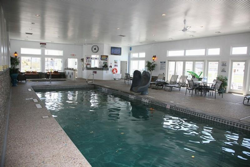 Indoor Pool @ Beach Point Health and Swim Club cross the street at The Top Mast ($15 adults, $8 kids)