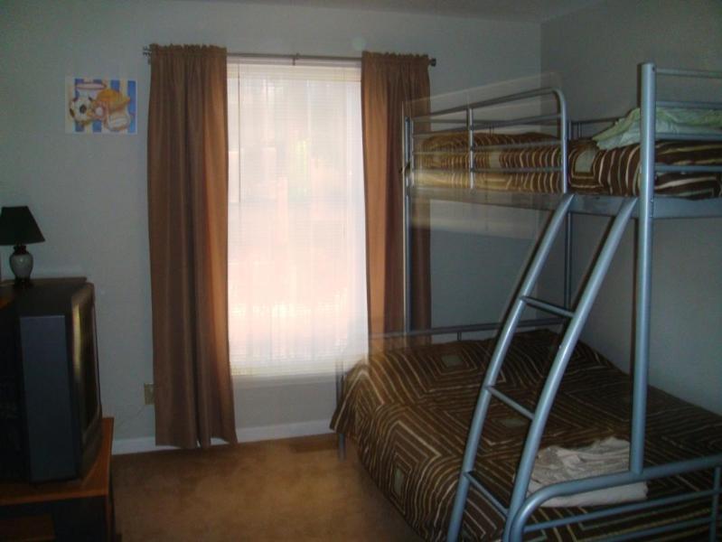 First floor bunk bed room