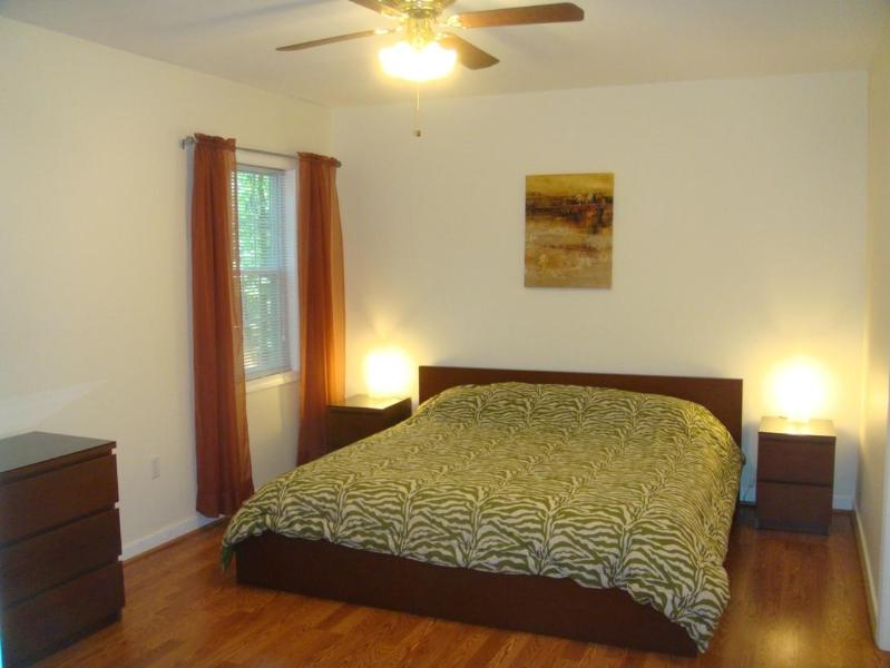 Downstairs master bedroom, private exit to lower deck