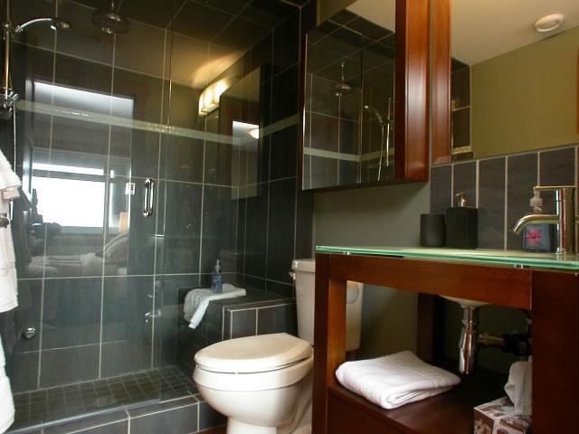 vapor ducha habitación en suite