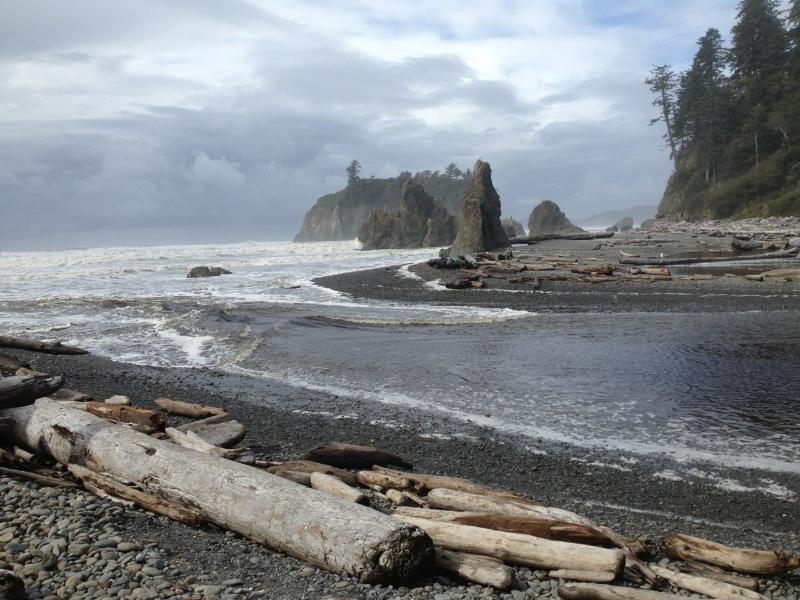 Ruby Beach - Another popular area beach!