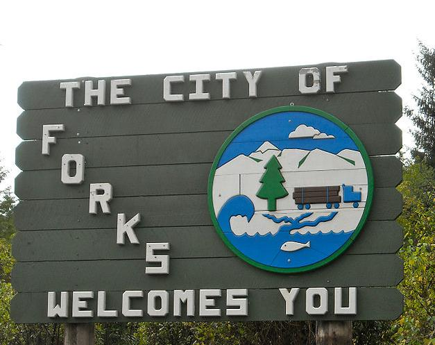 A Cozy River House and the City of Forks welcomes YOU!