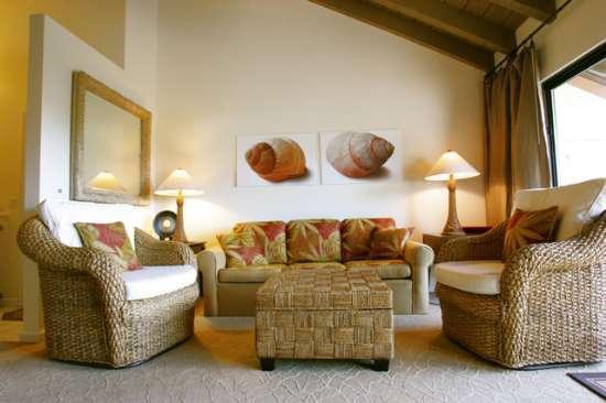 Stylishly furnished