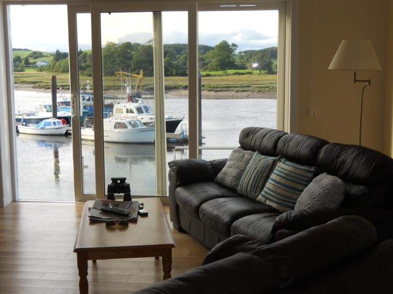 river view from sitting room