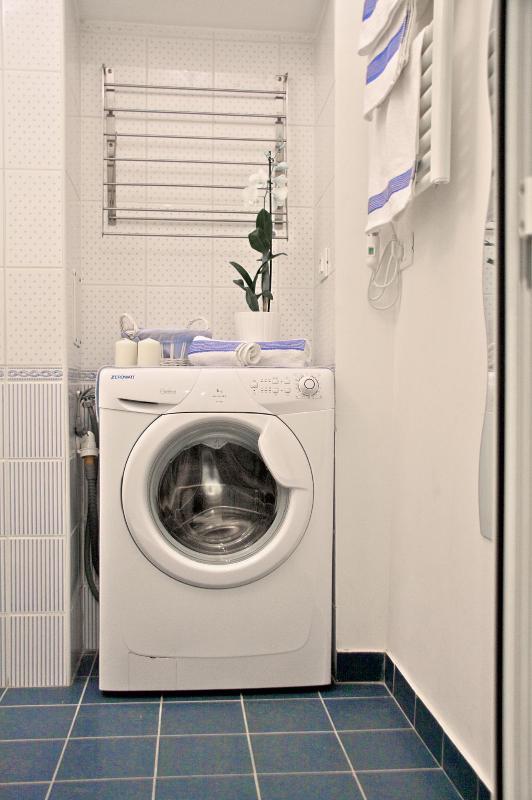 Boschetto Cove Washing machine detail