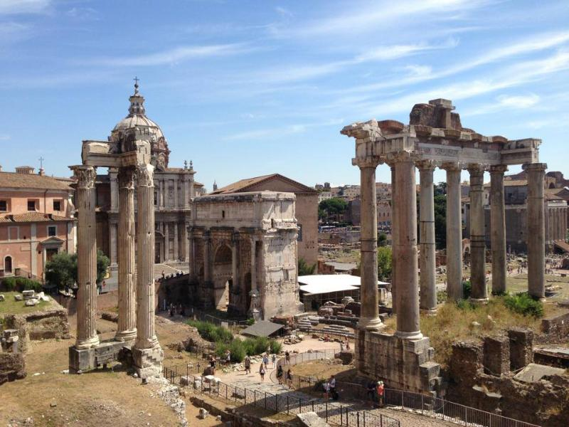 Forum and ancient ruines