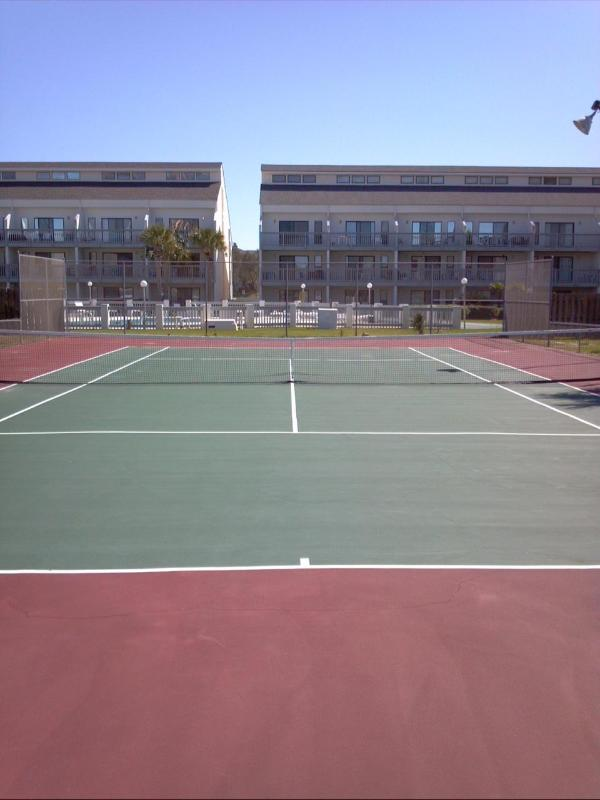 1 of 3 Tennis Courts