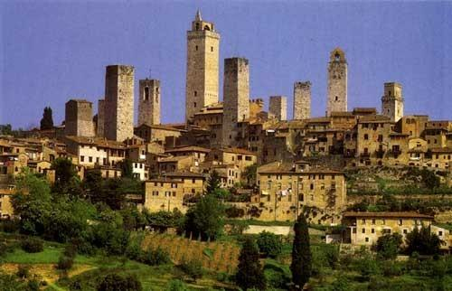 just 40 km from San Gimignano