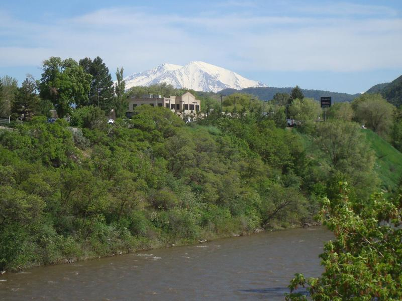 The Complex is located on the bank of Roaring Fork River - great for water rafting!